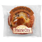 Prairie Creek Individually Wrapped Chocolate Chip Down Home Muffin, 4.5 Ounce -- 48 per case.