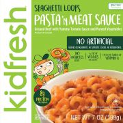 Kidfresh Spaghetti Loops and Meat Sauce Entree, 7 Ounce -- 8 per case