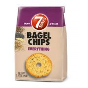 7 Days Everything Bagel Chips, 3.17 Ounce -- 12 per case.