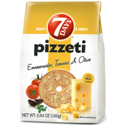 7 Days Emmenthaler Tomato and Olive Pizzeti, 5.64 Ounce -- 12 per case