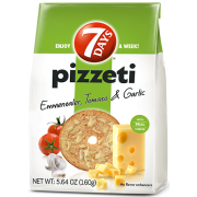 7 Days Emmenthaler Tomato and Garlic Pizzeti, 5.64 Ounce -- 12 per case