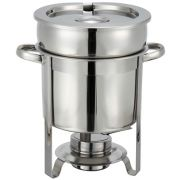 Winco Stainless Steel Soup Warmer, 7 Quart -- 1 each