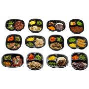 Golden Gourmet 5 Meal Lunch/Dinner Complete Solutions -- 5 per case.