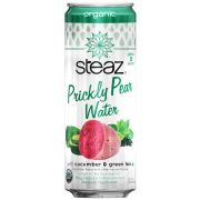 Steaz Cucumber Prickly Pear Water, 12 Ounce -- 12 per case.