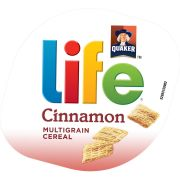 Quaker Life Cinnamon Cereal, 2.29 Ounce -- 12 per case.