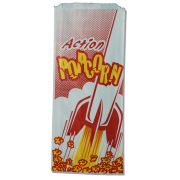 Great Western Action Popcorn Bag, 12 inch -- 1000 per case.