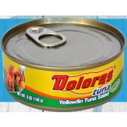 Dolores Yellowfin Tuna Salad with Vegetable Oil, 5 Ounce -- 24 per case