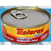 Dolores Yellowfin Tuna in Chipotle Sauce, 5 Ounce -- 24 per case
