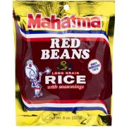Mahatma Red Beans and Long Grain Rice, 8 Ounce -- 12 per case