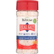 Redmond Real Salt Ancient Kosher Salt, 10 Ounce Shaker -- 6 per case
