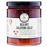 Fischer and Wieser Red Hot Jalapeno Jelly, 10.9 Ounce -- 6 per case