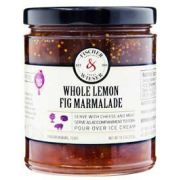 Fischer and Wieser Whole Lemon Fig Marmalade, 10.9 Ounce -- 6 per case