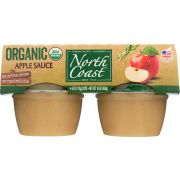 North Coast Organic Apple Sauce, 4 count per pack -- 12 per case