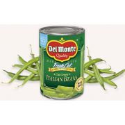 Del Monte Fresh Cut Italian Green Beans, 14.5 Ounce -- 12 per case