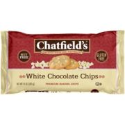 Chatfields White Chocolate Chips, 10 Ounce -- 12 per case