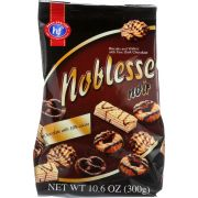 Hans Freitag Noblesse Noir Biscuits and Wafer Cookie, 10.6 Ounce -- 10 per case