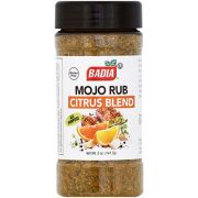 Badia Mojo Rub Citrus Blend Seasoning, 5 Ounce -- 6 per case
