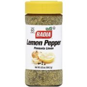 Badia Lemon Pepper Seasoning, 6.5 Ounce -- 6 per case
