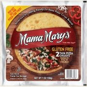Mama Marys 7 inch Gluten Free Pizza Crust, 2 count per pack -- 8 per case