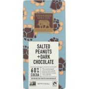 Endangered Species Dark Chocolate Bar with Peanuts, 3 Ounce -- 12 per case