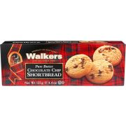 Walkers Pure Butter Chocolate Chip Shortbread, 4.4 Ounce -- 12 per case