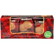 Walkers Snack Packs Shortbread Rounds Cookie, 7.2 Ounce -- 6 per case