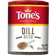 Tones Dill Seed, 0.55 Ounce -- 6 per case