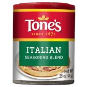 Tones Italian Seasoning Blend, 0.25 Ounce -- 6 per case