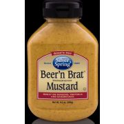 Silver Springs Beer and Brat Mustard, 9.5 Ounce -- 9 per case