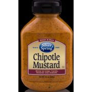 Silver Springs Chipotle Mustard, 9.5 Ounce -- 9 per case