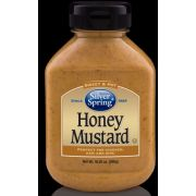 Silver Springs Sweet and Hot Honey Mustard, 10.25 Ounce -- 9 per case