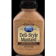 Silver Springs Deli Style Mustard, 9.5 Ounce Squeeze -- 9 per case