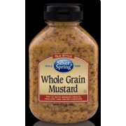 Silver Springs Stone Ground Whole Grain Mustard, 9.25 Ounce -- 9 per case