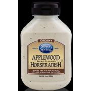 Silver Springs Applewood Smoke Flavored Horseradish, 9 Ounce -- 9 per case