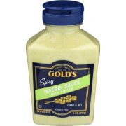 Golds Wasabi Sauce with Ginger, 9 Ounce Squeeze -- 12 per case