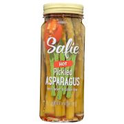 Safie Hot Pickled Asparagus, 16 Ounce -- 6 per case