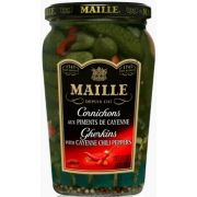 Maille Cornichons with Cayenne Chili Peppers, 13.5 Ounce -- 12 per case
