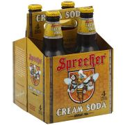 Sprecher Cream Soda, 4 count per pack -- 6 per case
