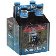 Sprecher Puma Kola Soda, 4 count per pack -- 6 per case