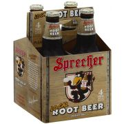Sprecher Low Calorie Root Beer Soda, 4 count per pack -- 6 per case