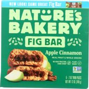 Natures Bakery Apple Cinnamon Stone Ground Whole Wheat Fig Bar, 12 Ounce -- 6 per case