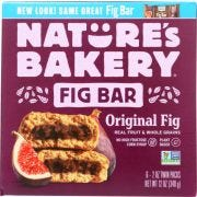 Natures Bakery Original Whole Wheat Fig Bar, 12 Ounce -- 6 per case