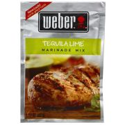 Weber Tequila Lime Marinade Mix, 1.12 Ounce -- 12 per case