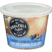 The Soulfull Project Blueberry Almond Hot Cereal, 2.26 Ounce -- 6 per case