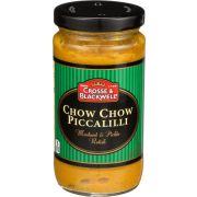 Crosse and Blackwell Chow Chow Piccalilli Mustard and Pickle Relish, 9.34 Ounce -- 6 per case