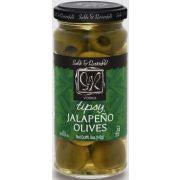 Sable and Rosenfeld Vodka Jalapeno Tipsy Olives, 5.3 Ounce -- 6 per case