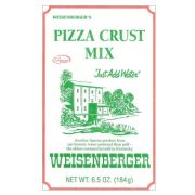 Weisenberger Pizza Crust Mix, 6.5 Ounce -- 12 per case