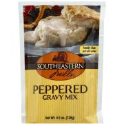 Southeastern Mills Peppered Gravy Mix, 4.5 Ounce -- 24 per case