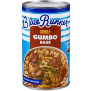 Blue Runner Chicken and Sausage Creole Gumbo Base, 25 Ounce -- 6 per case