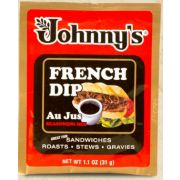 Johnnys Au Jus Powder Seasoning Mix, 1.1 Ounce -- 12 per case